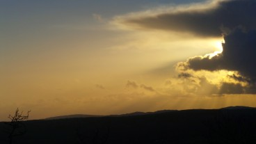 Sunset, Scout Scar