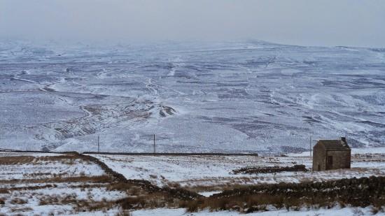 Moor Snow? Alston Moor, Cumbria