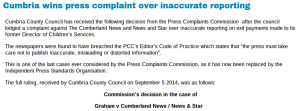 council complaints