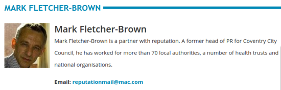 markfletcherbrown comms journal